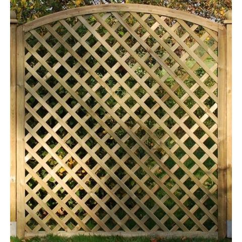 Kratka drewniana Manta z łukiem