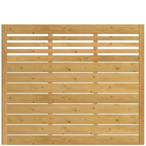 Płot drewniany Bergamo 178x150 cm