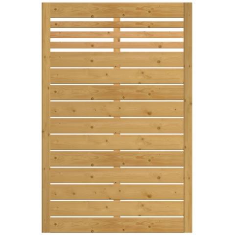 Płot drewniany Bergamo 118x180 cm