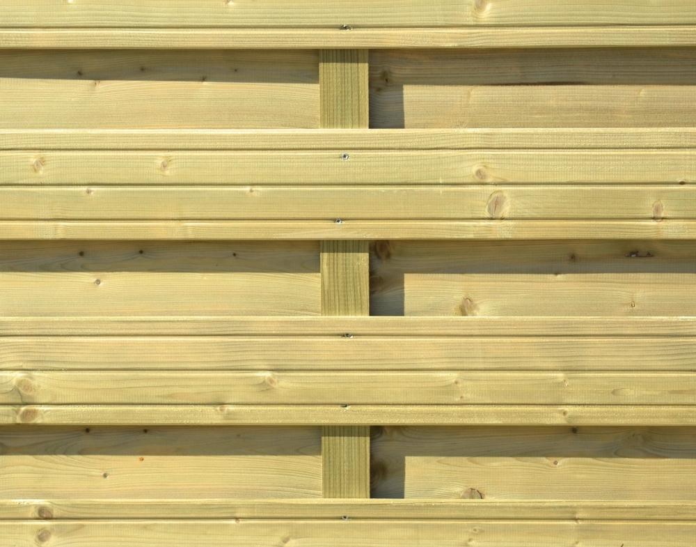 Płot drewniany Torino L  178x179 cm