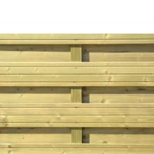 Płot drewniany Torino L 89x179/89 cm