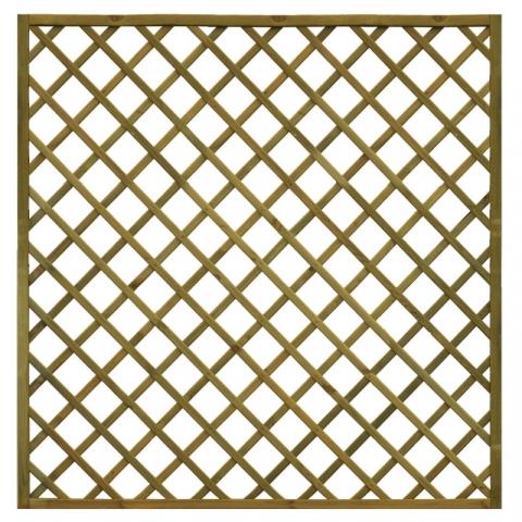 Kratka drewniana Elba prosta 178 x 179 cm