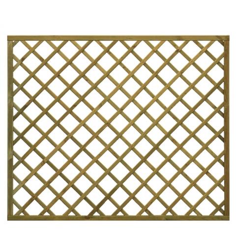 Kratka drewniana Elba prosta 178 x 149 cm