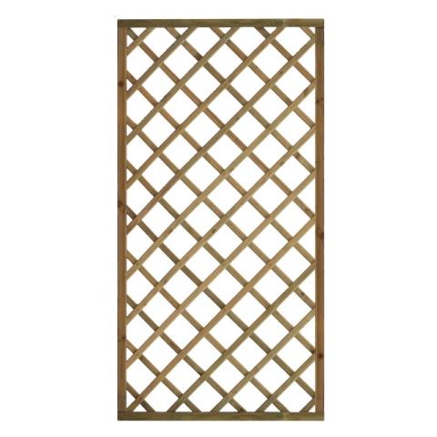 Kratka drewniana Elba prosta 90 x 179 cm