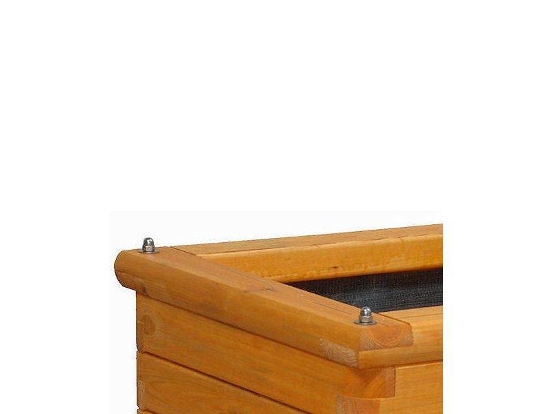 Donica drewniana Denis - kolor Modrzew