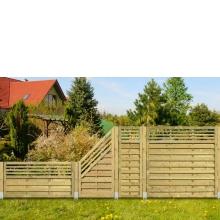 Płot drewniany Torino L 178x89 cm