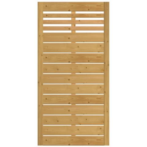 Płot drewniany Bergamo 89x180 cm