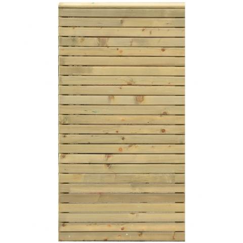 Płot drewniany Tivoli