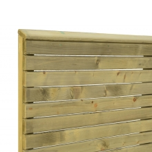 Płot drewniany Tivoli 90x180 cm