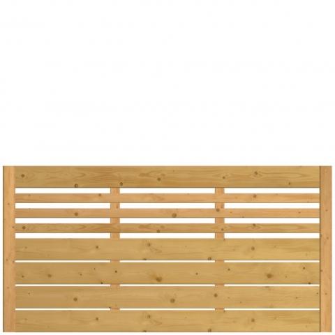 Płot drewniany Bergamo