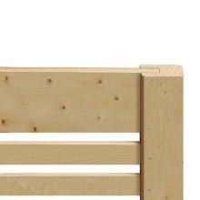 Płot drewniany Bergamo 178x90 cm