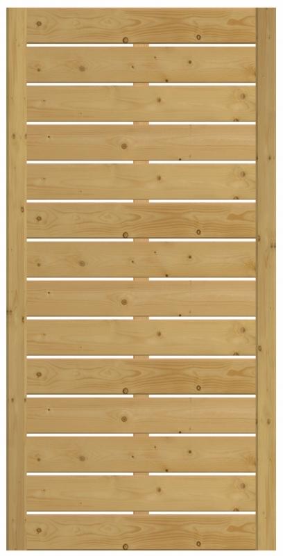 Płot drewniany Bergamo 90x180 cm
