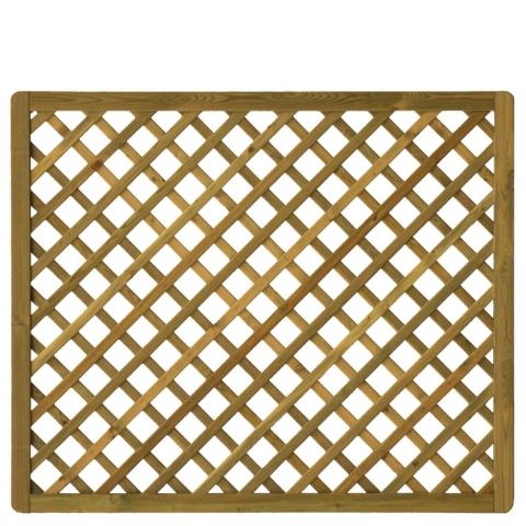 Kratka drewniana Manta prosta 178 x 149 cm
