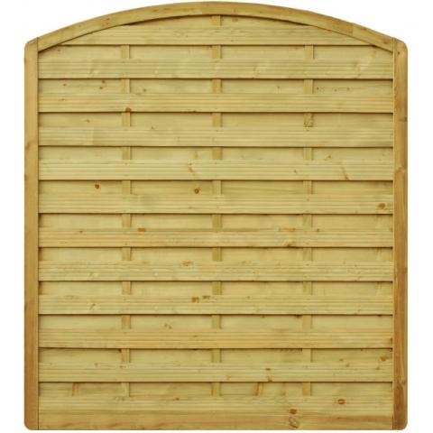 Płot drewniany Aragon z łukiem 178x200 cm