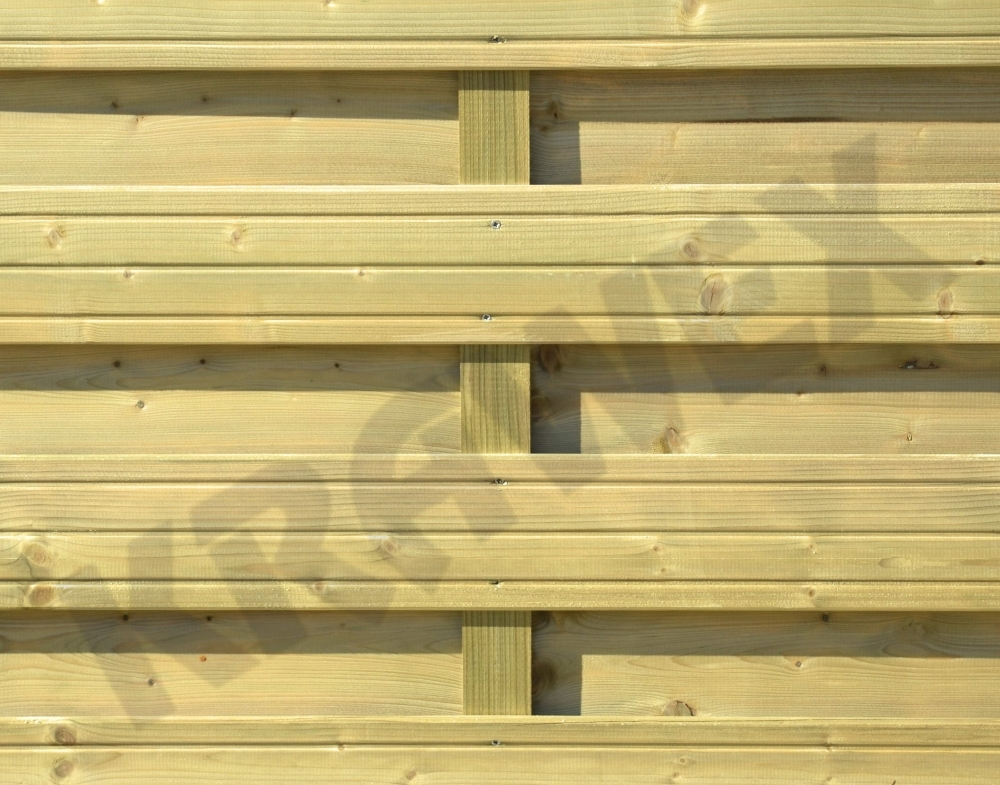 Płot drewniany Torino aneks skośny 178x179 cm