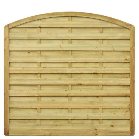Płot drewniany Aragon z łukiem 178x170 cm