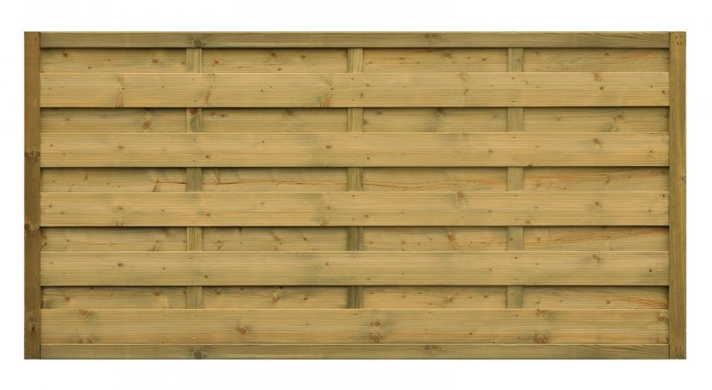 Płot drewniany Roma prosty - 178x89 cm/B x H
