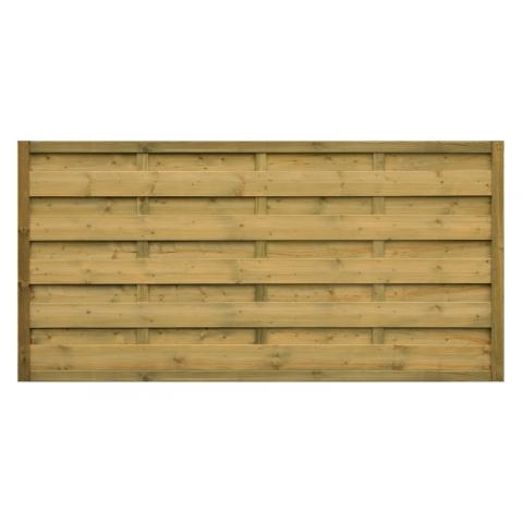 Płot drewniany Roma prosty 178x89 cm