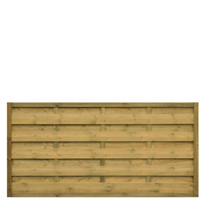 Płot drewniany Roma prosty 178x89 cm - 178x89 cm/B x H