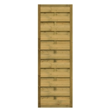 Płot drewniany Roma prosty - 60x179 cm/B x H