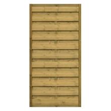 Płot drewniany Roma prosty - 90x179 cm/B x H