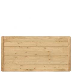 Płot drewniany Malaga pełny 178x89