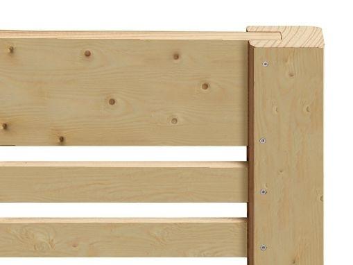 Bramka drewniana Bergamo 98x180 cm