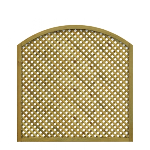 Kratka drewniana Lila z łukiem 118 x 120/99 cm