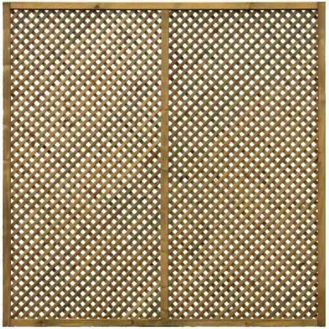 Kratka drewniana Lila prosta 178 x 179 cm