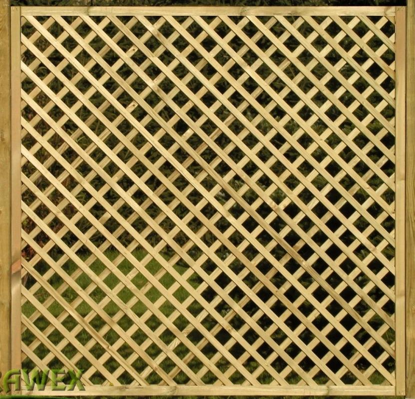 Kratka drewniana Ester prosta 178 x 179 cm