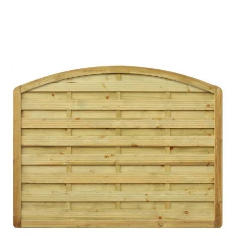 Płot drewniany Aragon z łukiem 178x140 cm