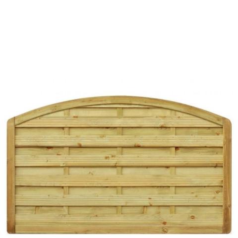 Płot drewniany Aragon z łukiem 178x110 cm