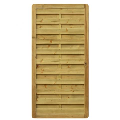 Płot drewniany Aragon prosty 90x179 cm