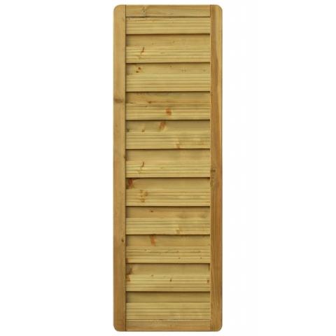 Płot drewniany Aragon prosty 60x179 cm