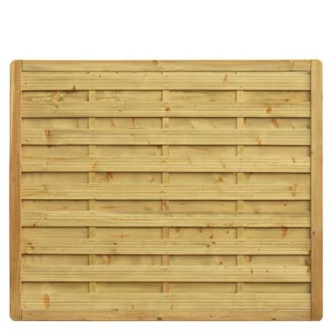 Płot drewniany Aragon prosty 178x149 cm