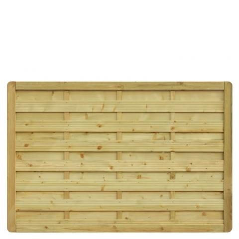 Płot drewniany Aragon prosty 178x119 cm