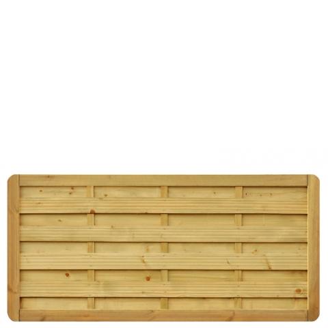 Płot drewniany Aragon prosty  178x89 cm