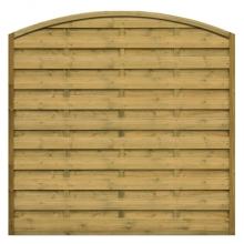 Płot drewniany Roma z łukiem 178x180/159 cm - 178x180/159 cm/LxH
