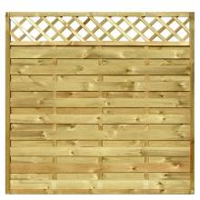 Płot drewniany Oslo - 178x179 cm/B x H