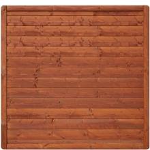 Płot drewniany Malaga pełny 178x179 cm