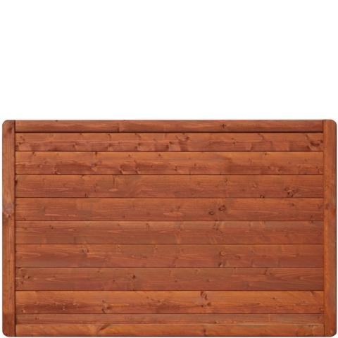 Płot drewniany Malaga pełny 178x149 cm