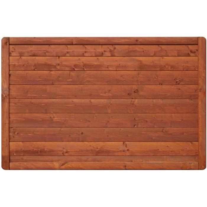 Płot drewniany Malaga pełny