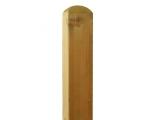 Słupek zaokrąglony 7x7 cm