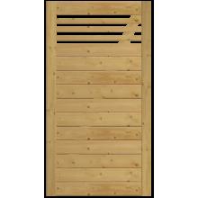 Bramka drewniana Bergamo z prześwitem 98x180 cm
